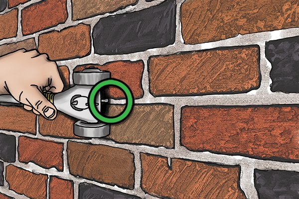 Make sure your pin is in the mortar - obvious but easy mistake to make!