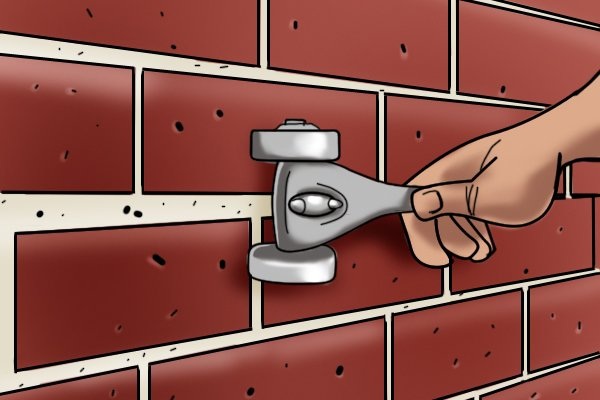 Whether you can use a brick rake or not will depend on the type of mortar you are trying to remove