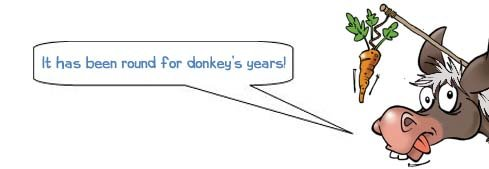 "Wonkee Donkee says, ""It has been round for donkey's years""."