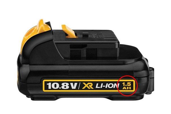 Cordless drill driver 10.8 volt Li-Ion battery