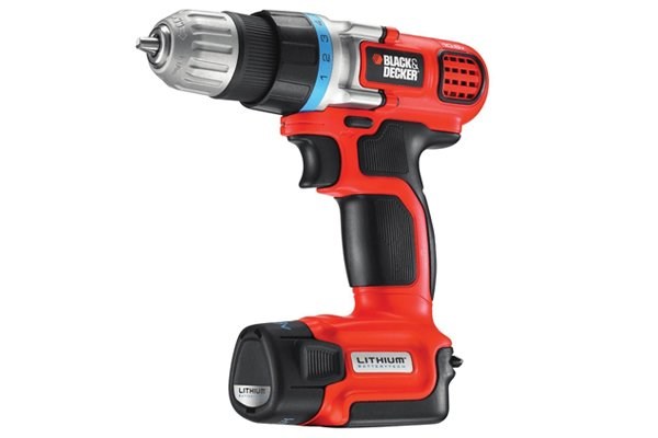 Red single gear cordless drill driver