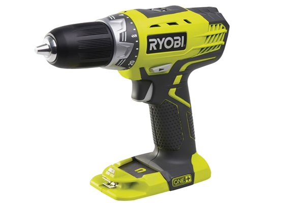 Yellow multiple gear cordless drill driver