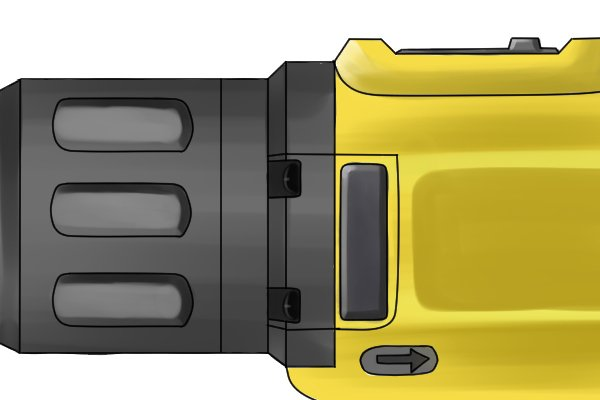 Torque control on a cordless drill driver
