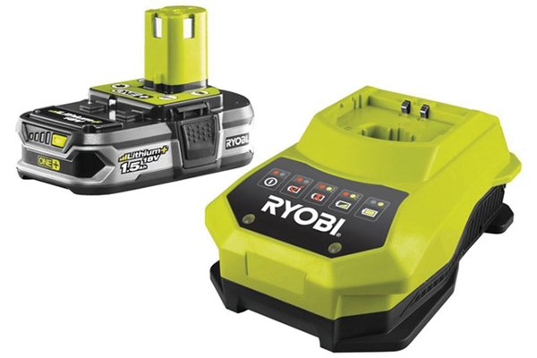 Cordless drill driver battery and charger