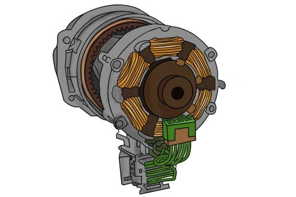 Brushless motors have advantages over brushed motors