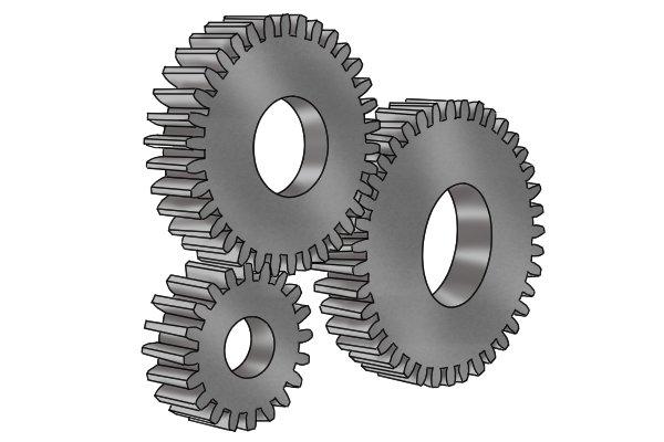 Set of gears