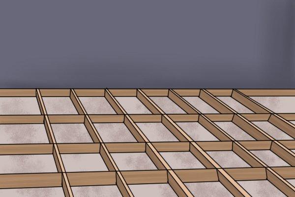 Laying decking
