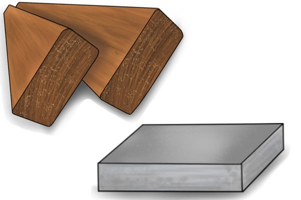 Tougher materials: hard wood and stone