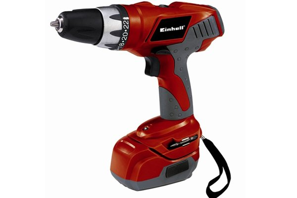 red cordless drill driver