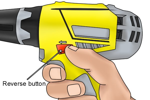 Moving the forward/reverse button forward