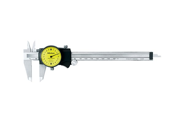 A Dial caliper is a calibrated precision measuring tool that is useful for taking accurate measurements.