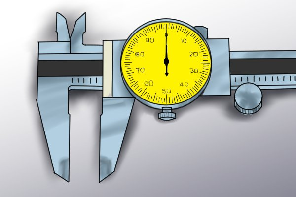 Most dial calipers are able to take four different kinds of measurement: outside measurements, inside measurements, depth measurements and step measurements. This capability is sometimes referred to as quadri feature.