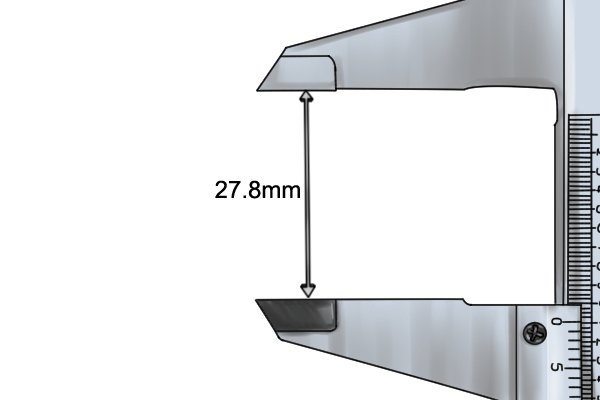 how to read vernier caliper scale