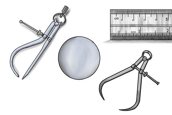 You will need: A ruler A jenny caliper An outside caliper Workpiece