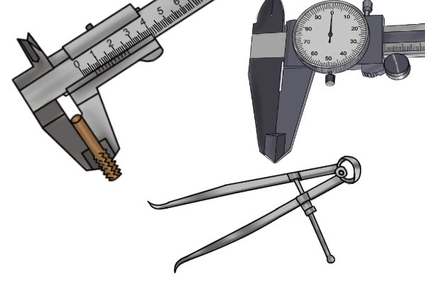 Useful for measuring large distances Spring calipers are especially useful when measuring large distances. Their measuring range is greater than that of most vernier and dial calipers.
