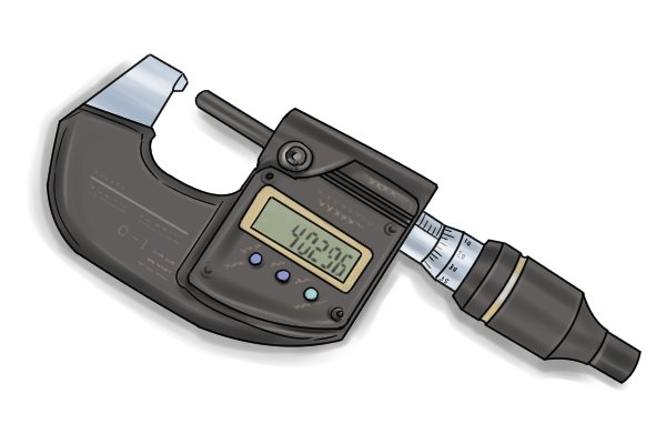 The digital micrometer is the most recent innovation in micrometer technology.