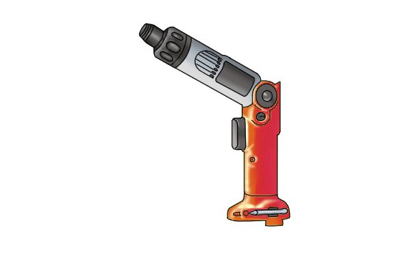 Cordless screwdriver without battery