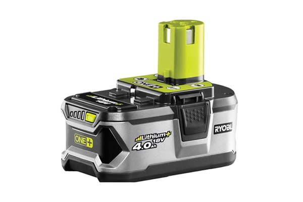 Cordless screwdriver with detachable battery and spare battery on charge