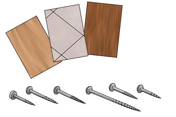 Materials and screws