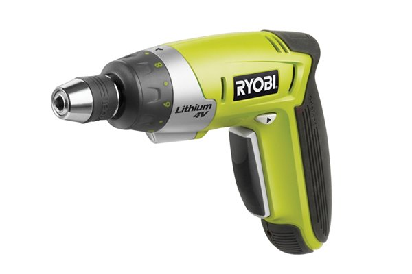 Cordless screwdriver without torque ring