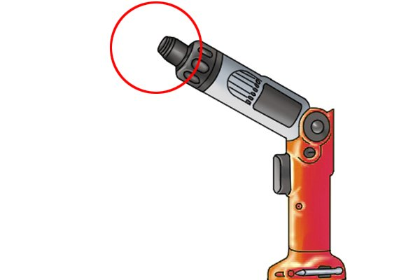 Cordless screwdriver with quick change/ quick release chuck