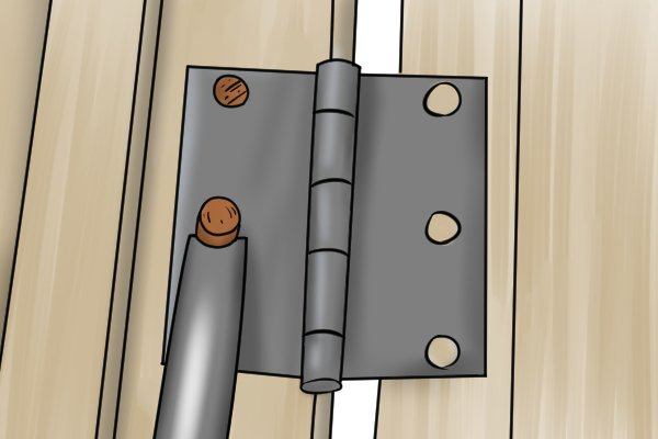 how to repair stripped screw holes with dowels. Black Bedroom Furniture Sets. Home Design Ideas