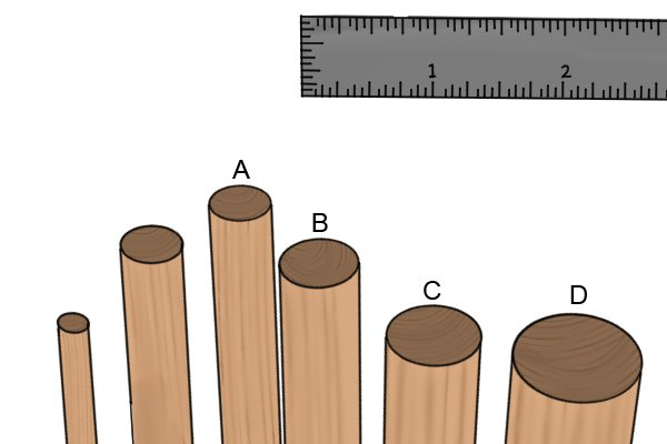 What dowel sizes are available?