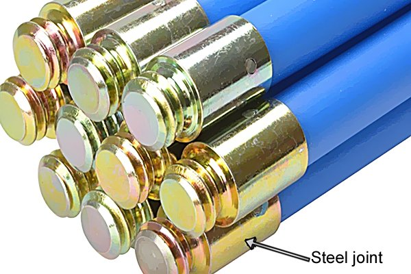 Wonkee Donkee Steel joint on drain rods and chimneys rods