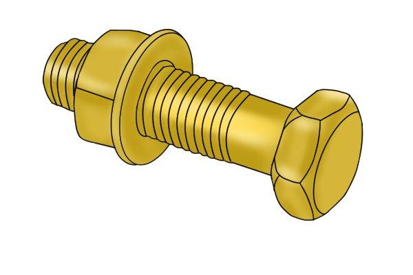 Wonkee Donkee Brass Alloy Bolt