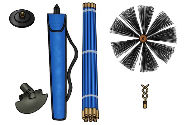 Wonkee Donkee Drain and chimney rod sets available