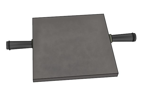 Cast iron surface plate is needed to provide a reliable flat surface
