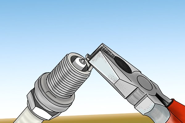How to gap spark plugs with a feeler gauge