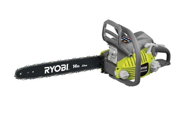 Image of a chainsaw, which should be sharpened with a chainsaw file