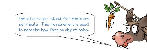 Wonkee Donkee explains that rpm is a measurement of the speed at which an object is turning