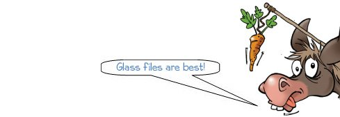 Wonkee Donkee recommends glass files for nail filing