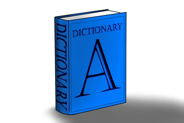 Image of a dictionary, containing all the terminology that is relevant to the way a file's teeth are cut!