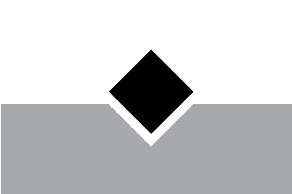Image of a right angled notch that has been cut by a square file