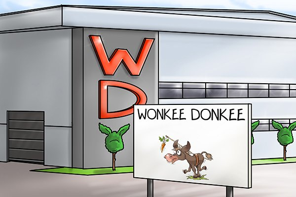 Image of the Wonkee Donkee tool factory shop