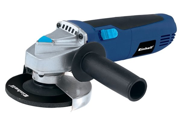An angle grinder, one of the alternatives to files