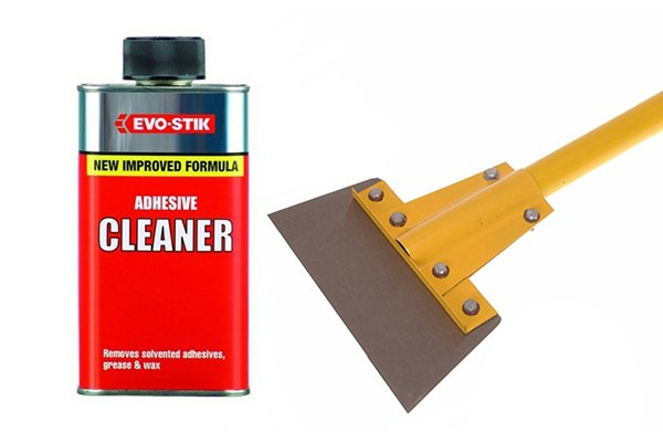 How To Remove Carpet Underlay Using A Scraper