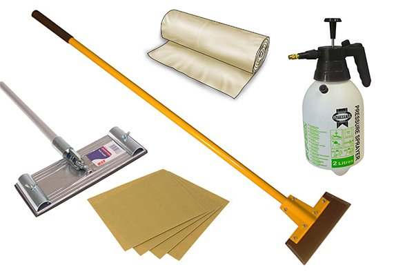 tools needed for removing popcorn ceiling