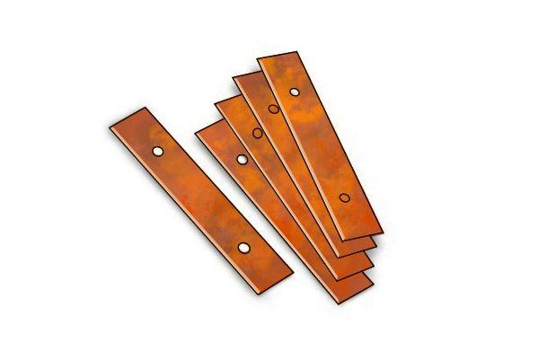 rusty blades