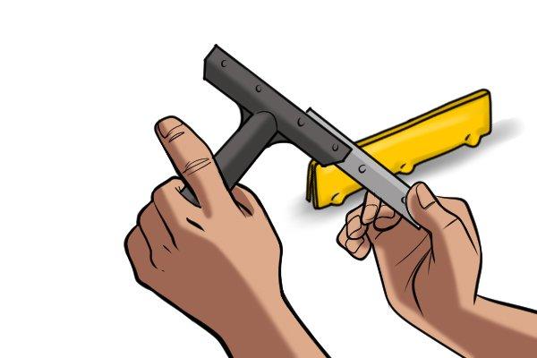 remove blade