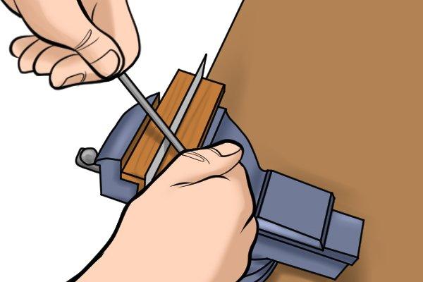 burnishing tool