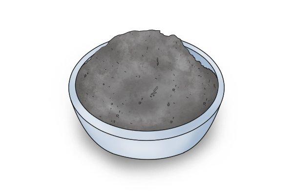 Tungsten carbide in powder form