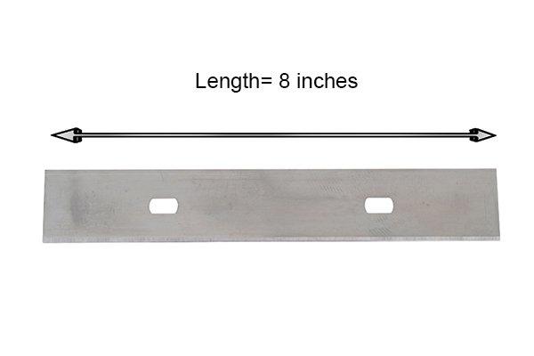 Replaceable scraper blade
