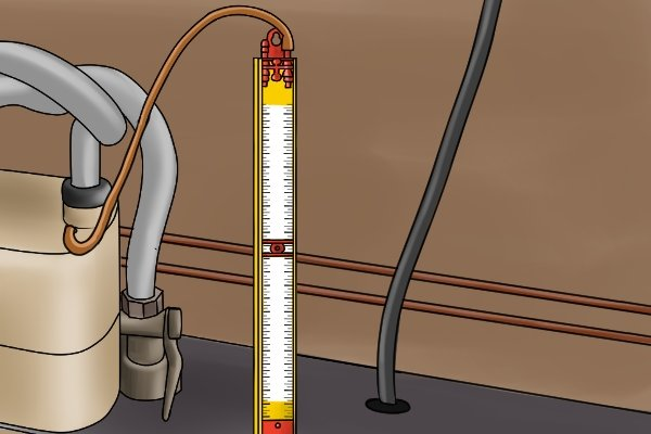 Inside A Gas Meter : How to carry out a tightness test with gas gauge
