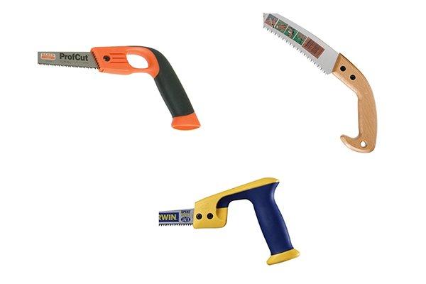 Open pistol grip handle