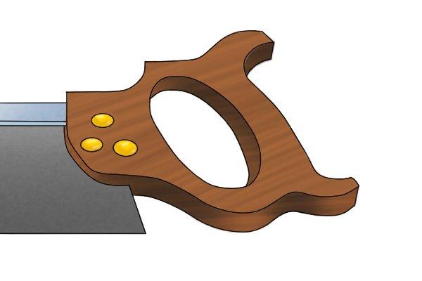 Tenon handle