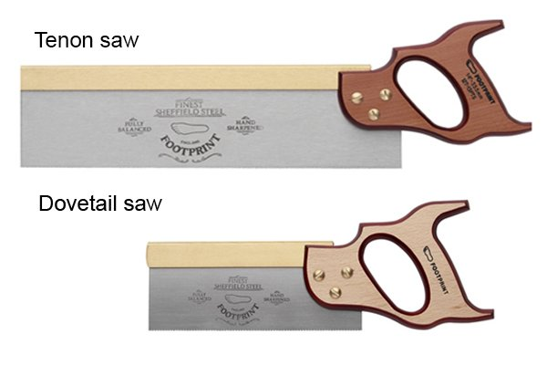 Tenon saw and Dovetail saw